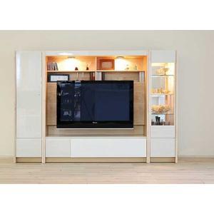 幅216×高155エストHW色TVsetキュリオ38+TVH140+板戸38 大川製 GUV塗装 ACEST|ekaguya