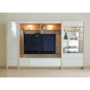 幅250×高155エストHW色TVsetキュリオ72+TVH140+板戸38 大川製 GUV塗装 ACEST|ekaguya