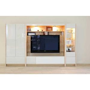 幅250×高155エストHW色TVsetキュリオ38+TVH140+板戸72 大川製 GUV塗装 ACEST|ekaguya