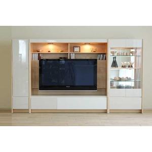 幅270×高155エストHW色TVsetキュリオ72+TVH160+板戸38 大川製 GUV塗装 ACEST|ekaguya