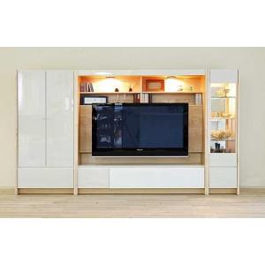 幅270×高155エストHW色TVsetキュリオ38+TVH160+板戸72 大川製 GUV塗装 ACEST|ekaguya