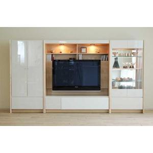 幅284×高155エストHW色TVsetキュリオ72+TVH140+板戸72 大川製 GUV塗装 ACEST|ekaguya