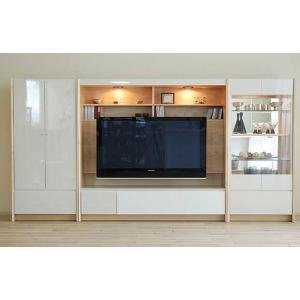 幅304×高155エストHW色TVsetキュリオ72+TVH160+板戸72 大川製 GUV塗装 ACEST|ekaguya