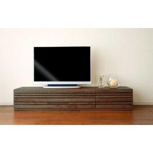 アルモニアテレビ150L ウォールナット材 Armonia TV150L RN色リアルナットナチュラル色 W1502×D471×H300 大川製|ekaguya