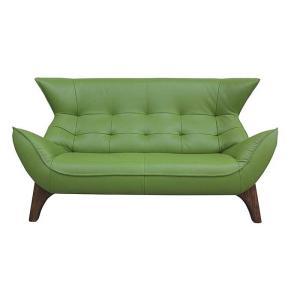 厳選国産 BEAK ビーク 2人用ソファー スムース調革張り W1640×D870×H900×SH400 革色・木部色が選べる 受注生産|ekaguya