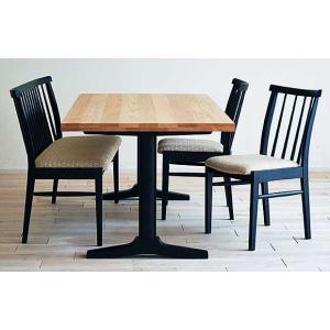 ベローズ140テーブルOC/BL+椅子BL/SBE 2脚+セティBL/SBE 座面素材・色・柄指定受注生産|ekaguya