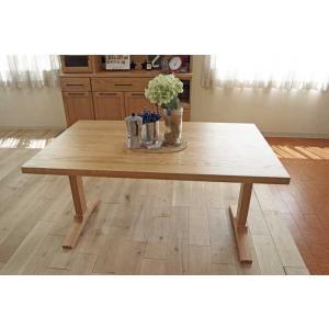オーク ベローズ140テーブル天板OC色 脚OC色W140D85H70 天板・脚色がBL色OC色から選べます|ekaguya