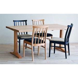 ベローズ140テーブルOC/OC+椅子OC/SGR4脚 座面素材・色・柄指定受注生産|ekaguya