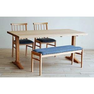 ベローズ150テーブルOC/OC+椅子2脚+ベルサベンチOC/SGR 座面素材・色・柄指定受注生産|ekaguya