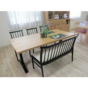 ベローズ160テーブルOC/BL+椅子BL/SBE 3脚+セティBL/SBE 座面素材・色・柄指定受注生産|ekaguya