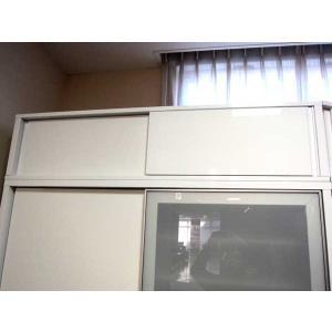 受注生産 UV塗装 Bernex ベルネ 上置140 RW色 W1400×D446×H200〜590 ロイヤルホワイト色 Base ベイス|ekaguya