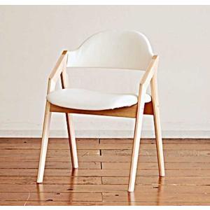幅520×奥行524×高752(SH430) 椅子本体は3色 張生地は12色対応 CBL5320RB/WH リアルビーチナチュラル/ホワイト|ekaguya