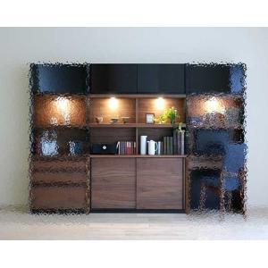 家具産地大川の家具職人製作 ウォールナット デコラDecola120スライドRN色W1202×D390×H1800|ekaguya