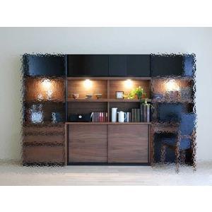 家具産地大川の家具職人製作 ウォールナット デコラDecola140スライドRN色W1402×D390×H1800|ekaguya