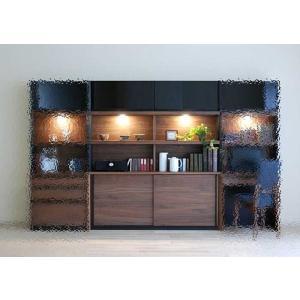 家具産地大川の家具職人製作 ウォールナット デコラDecola160スライドRN色W1602×D390×H1800|ekaguya