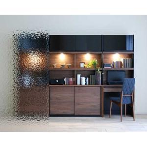 家具産地大川の家具職人製作 DecolaウォールナットRN色W190×H180 スライド120+デスク70SET|ekaguya