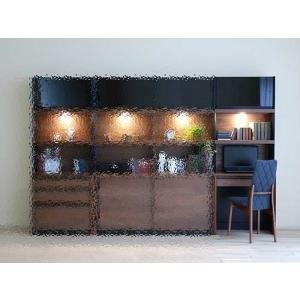 家具産地大川の家具職人製作 ウォールナット デコラ Decola70デスクRN色 W702×D390×H1800|ekaguya