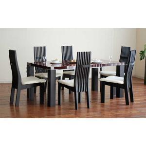 UV塗装テーブル W1804×D904×H701  DT531-180SR/UG+椅子CBL5310UG/WH×6脚 大川製|ekaguya