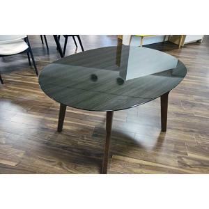 幅120×奥行90×高70 UV塗装楕円テーブル 天板色 脚色が選べる DT532HB/CH120楕円|ekaguya