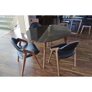 幅120×奥90 UV塗装テーブル 天板色 脚色が選べるDT532HB/CH120楕円+椅子CBL5320CH/BL×3 椅子本体は3色 張生地は12色対応|ekaguya