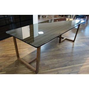 UV塗装 DT540HB/RN 200テーブルW200×D90×H70 天板.脚 色対応 受注生産 家具産地大川製|ekaguya