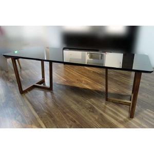 UV塗装 DT540HB/RN 220テーブルW220×D90×H70 天板.脚 色対応 受注生産 家具産地大川製|ekaguya