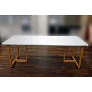 UV塗装 DT540RW/OC 200テーブルW200×D90×H70 天板.脚 色対応 受注生産 家具産地大川製|ekaguya
