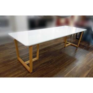UV塗装 DT540RW/OC 220テーブルW220×D90×H70 天板.脚 色対応 受注生産 家具産地大川製|ekaguya