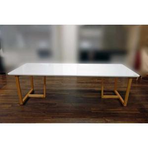 UV塗装 DT540RW/OC 230テーブルW230×D90×H70 天板.脚 色対応 受注生産 家具産地大川製|ekaguya