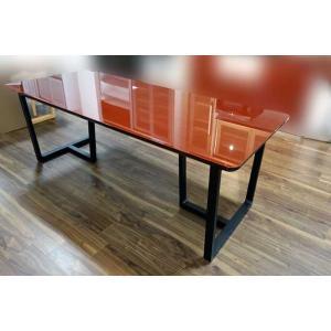 UV塗装 DT540SR/BL 170テーブルW170×D90×H70 天板.脚 色対応 受注生産 家具産地大川製|ekaguya