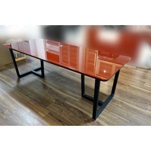 UV塗装 DT540SR/BL 200テーブルW200×D90×H70 天板.脚 色対応 受注生産 家具産地大川製|ekaguya