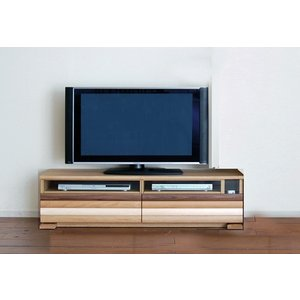 Erato140TV ON色 エラト テレビ140 オークナチュラル 幅1398×高450×奥行375 ホワイトオーク材 Applique アプリケTV140|ekaguya