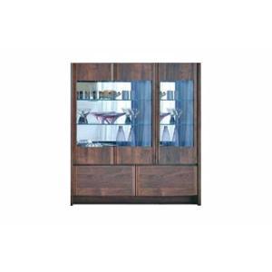 ウォールナット et Coeur 幅1062×高1200 エクールRN色 キュリオ72M 家具産地大川製|ekaguya