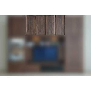 サイズ受注生産 ウォールナット et Coeur 幅1600×高600-930 エクールRN色 上置160H 家具産地大川製|ekaguya