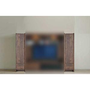 ウォールナット et Coeur 幅383×高1550 エクールRN色 板戸38 家具産地大川製|ekaguya