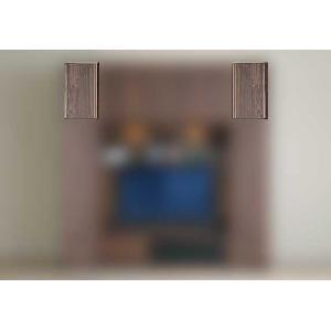 サイズ受注生産 ウォールナット et Coeur 幅200-400×高350-590 エクールRN色 上置20-40M 家具産地大川製|ekaguya