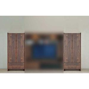 ウォールナット et Coeur 幅722×高1550 エクールRN色 板戸72 家具産地大川製|ekaguya