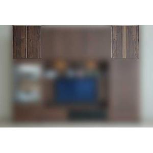 サイズ受注生産 ウォールナット et Coeur 幅722×高600-930 エクールRN色 上置72H 家具産地大川製|ekaguya