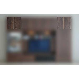 サイズ受注生産 ウォールナット et Coeur 幅722×高350-590 エクールRN色 上置72M 家具産地大川製|ekaguya