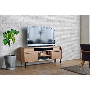 レッドオーク LUDENS ルーデンス リビングボード150OC W1500×D430×H655 セラウッド塗装 ウォールナットRN色あり 大川製|ekaguya