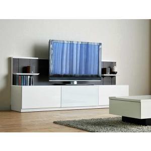 Luzz TV210 RW色 幅2100×高850×奥行440 ルッツTV210 ロイヤルホワイト色 UV塗装|ekaguya