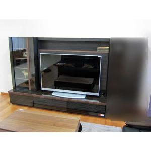 GUV塗装メレーナ ヒッコリーブラック210TVset 60Gキャビ+150TVH W2104×D470×H1500 大川製|ekaguya