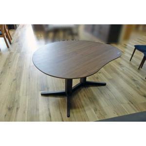 ウォールナットMirage ミラージュ140テーブルRN/CH W140×D110×H70 色違あり 家具産地大川製|ekaguya
