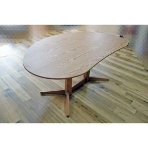 オークMirage ミラージュ160テーブルOCオークカラーW160×D110×H70 木部色選択可 家具産地大川製|ekaguya