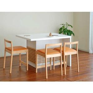 モナミ140カウンターテーブル ロイヤルホワイトUV塗装 Monami140RW CounterTable W140×D80×H85|ekaguya