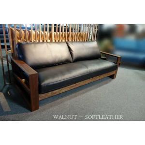 厳選国産 ウォールナットRN 2人用ソファー MTRf2-2 W160×D83×H76 orレッドオークorタモの木種・張生地・オイルorウレタン塗装が選べる|ekaguya