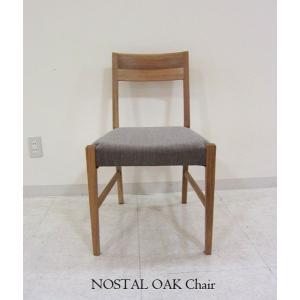 オーク NOSTAL ノスタルチェアーRN オークナナチュラル色 大川製 W450×D494×H777(SH430)|ekaguya