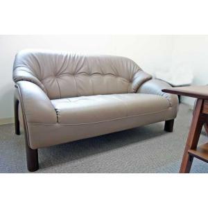 国産コンパクトサイズ OPAL 2P オパール 2人用 ソファー 革張り W1260×D780×H710×SH370 革色が選べる 受注生産|ekaguya