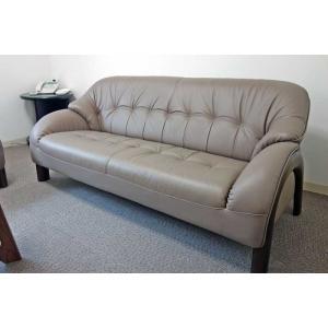 国産コンパクトサイズ OPAL 3P オパール 3人用 ソファー 革張り W1560×D780×H710×SH370 革色が選べる 受注生産|ekaguya