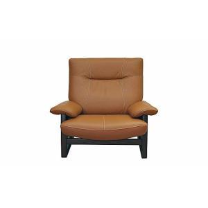 厳選国産 PANSER 1P パンサー 1人用 ソファー スムース調革張り W1020×D850×H920×SH400 革色・木部色が選べる 受注生産|ekaguya